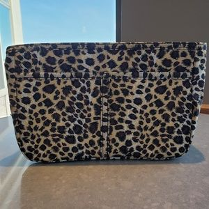 Leopard Print Purse Organizer